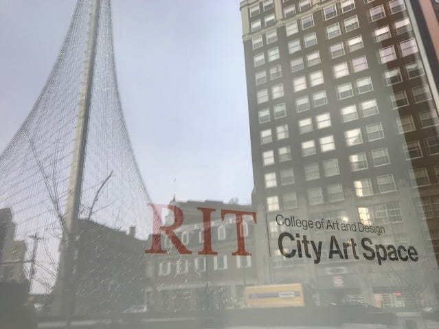 A new RIT City Art Space will open to the public at Sibley Square Friday.