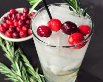 Home mixologist Jeff Burnett won a holiday cocktail contest with this recipe.