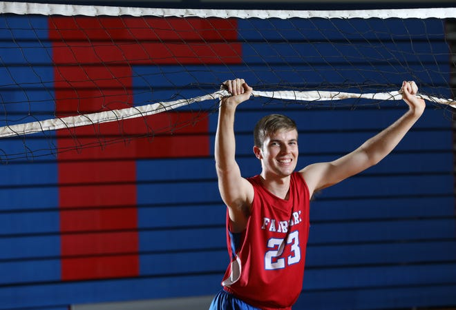 Ryan Parker led Fairport to the state Class A championship and earned All-Greater Rochester Player of the Year honors.