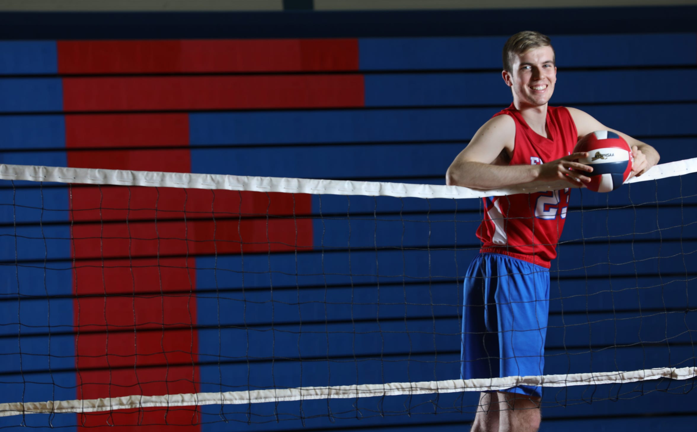 Fall AGR 2018.Ryan Parker, Fairport, AGR VOLLEYBALL PLAYER OF THE YEAR 2018.