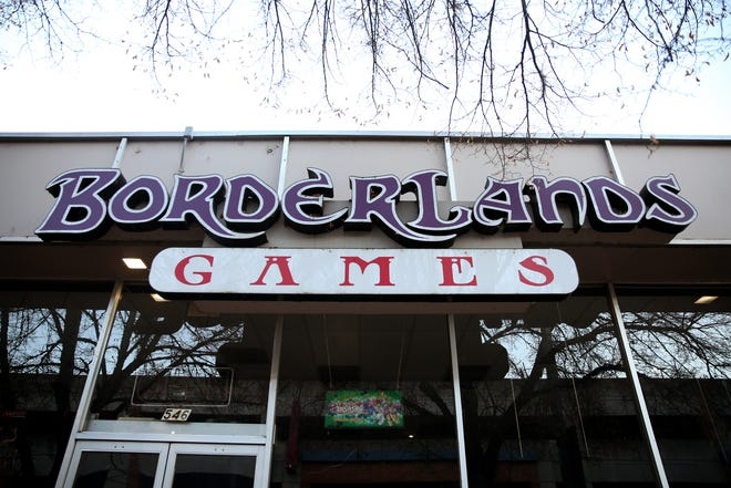 Borderlands Games in Salem on Tuesday, Dec. 4, 2018. The gaming store closed after 23 years in November.