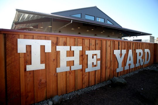 The Yard Food Park as seen from State Street in Salem on Wednesday, Dec. 5, 2018.