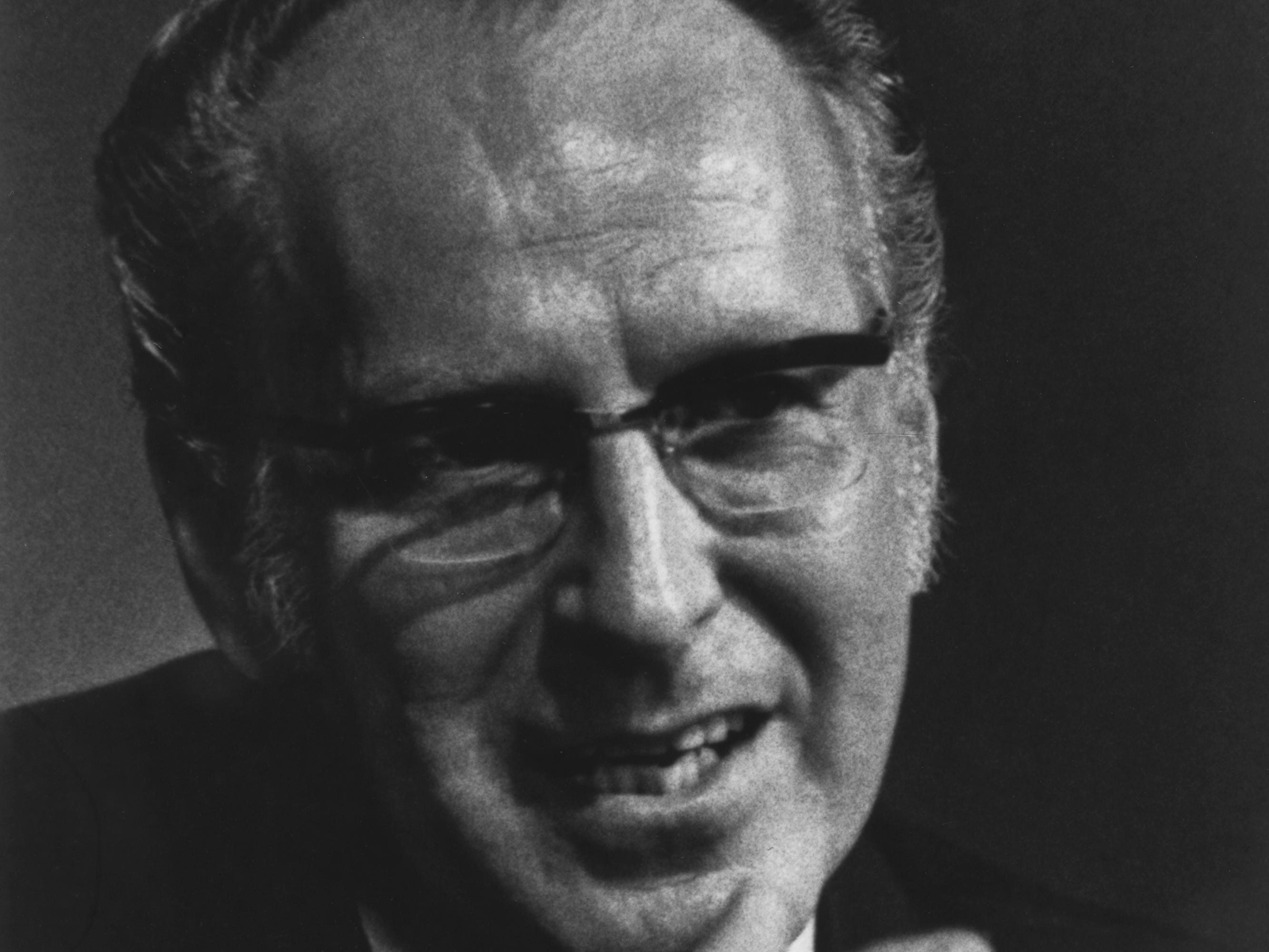 Dr. Glenn A. Olds, a debate and oratory champion in college, was known for his inspirational sermons as a minister.