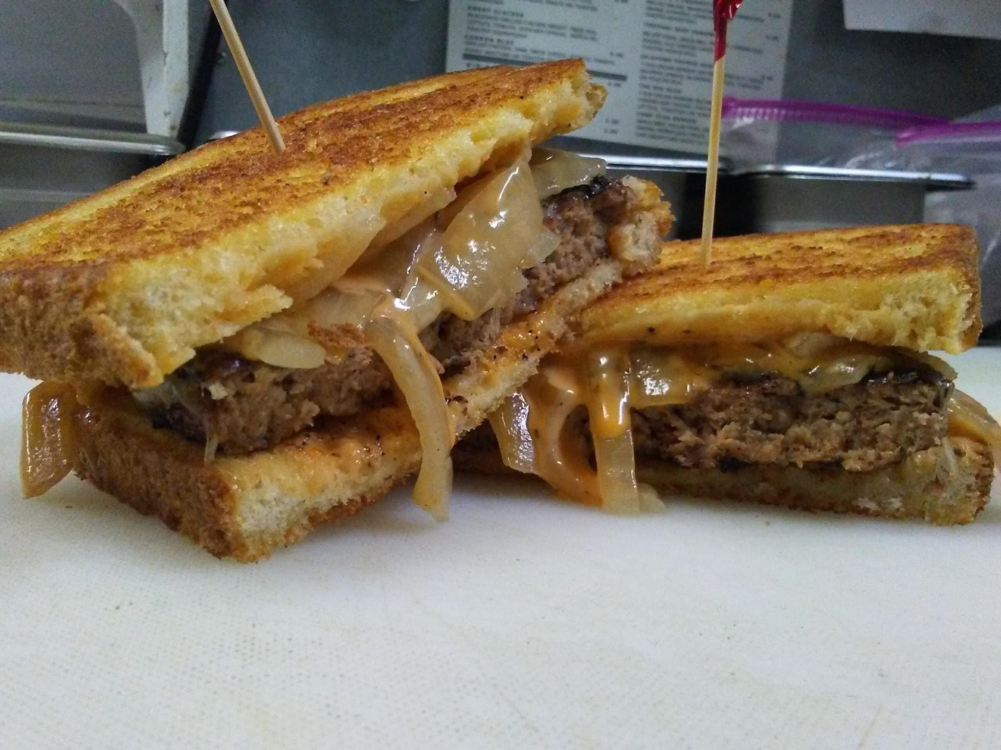 This Patty Melt can be found at the Silo House restaurant at 2503 Martin Luther King Blvd until Dec. 22, 2018. It will return in February 1, 2019 at the new Helen's Bistro and Bakery.