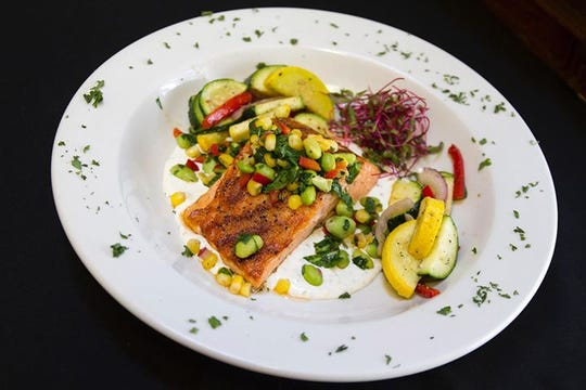 This salmon dish at Silo House, 2503 Martin Luther King Blvd, will be available at the new restaurant in February 2019.