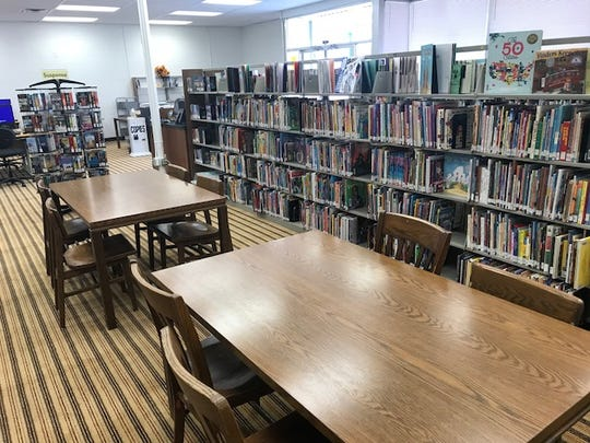 The Tom Green County Library North Angelo Branch, 3001 N. Chadbourne St., has opened up space. Photo taken Wednesday, Dec. 5, 2018.