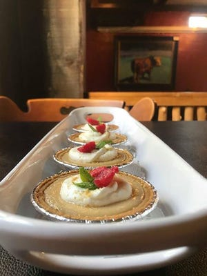 A series of mini key lime pies are on display at the Silo House Restaurant, 2503 Martin Luther King Blvd. The restaurant will close Dec. 22 and the owners will open a new restaurant with a similar menu in February 2019.