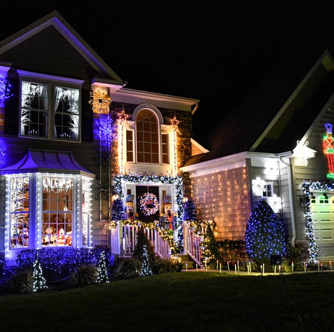 50,000 lights: Lewes home puts on animated Christmas show