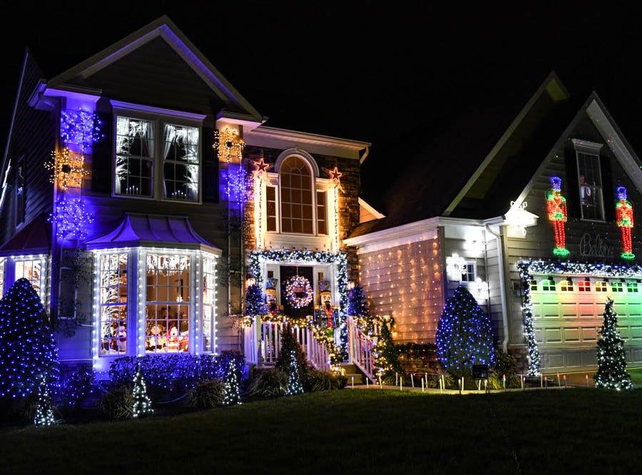50,000 lights: Lewes home puts on animated Christmas show