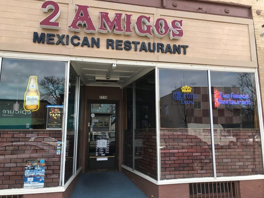 2 Amigos is located in downtown Sheboygan and serves classic Mexican food.