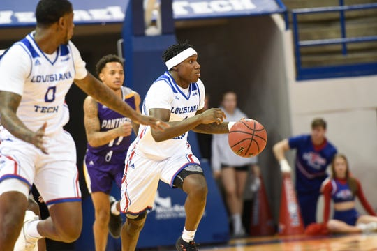 DaQuan Bracey scored a game-high 17 points to lead Louisiana Tech to victory on Saturday.