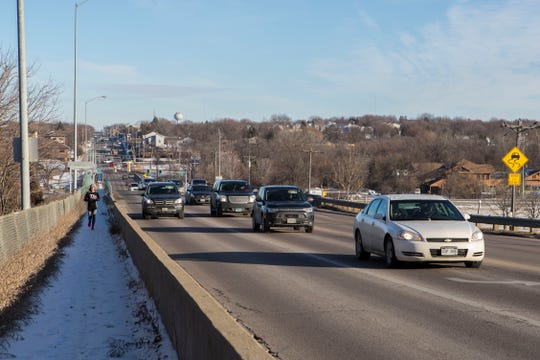 I-229 and 26th Street interchange is shown, Wednesday, Dec. 5, 2018 in Sioux Falls, S.D.