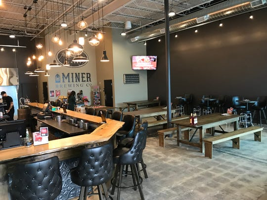 Miner Brewing Co. and Prairie Berry Winery's Sioux Falls location in the Western Mall.