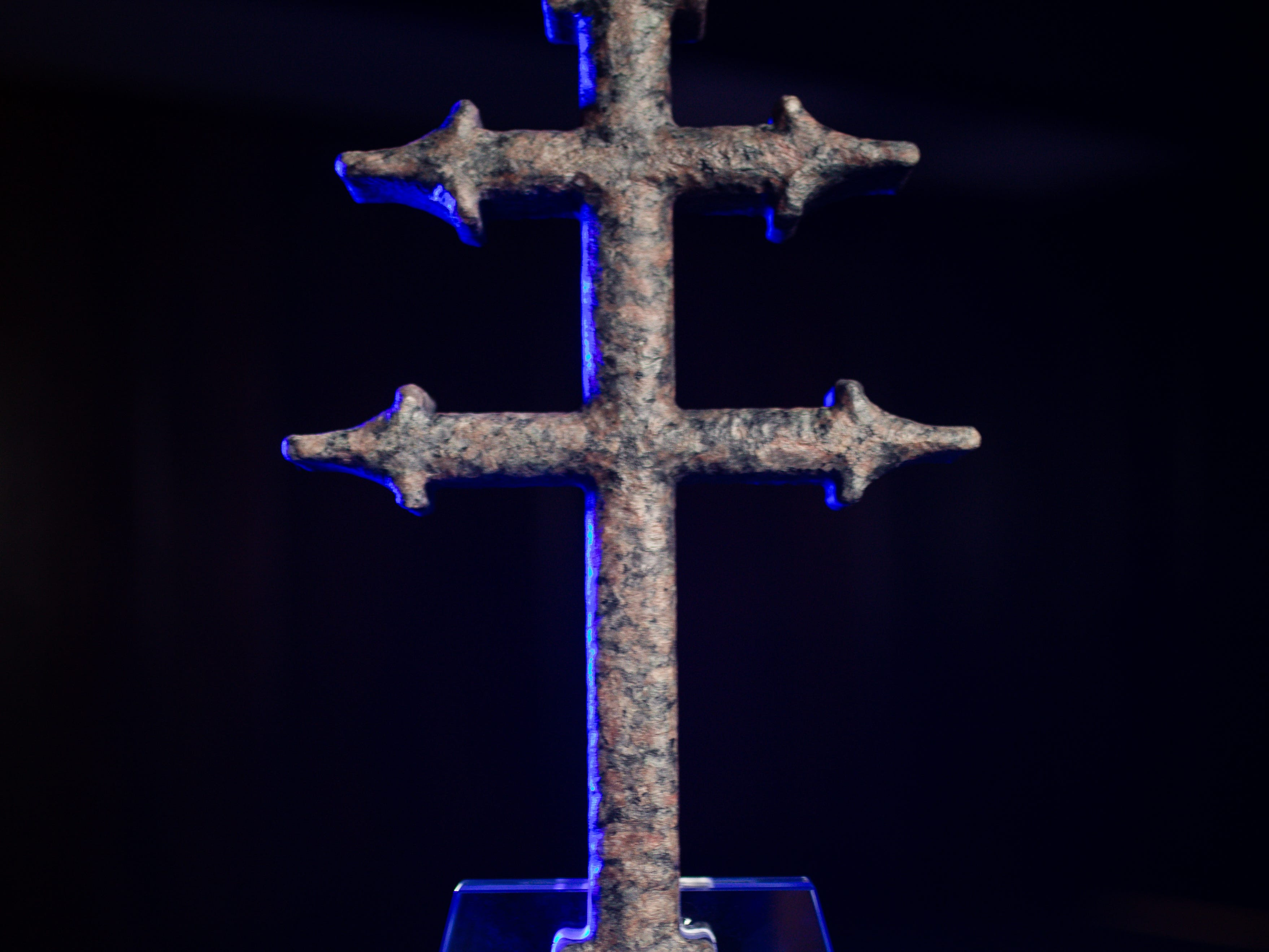 The Lorraine Cross Award is used in the Sanford Health logo and to symbolize innovation in health care.