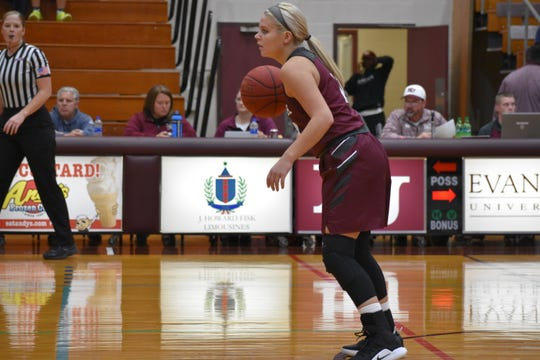 Junior guard Kylee Moore has been a key player for Evangel.