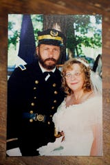 Frank and Billie Earnest were married in 1996.