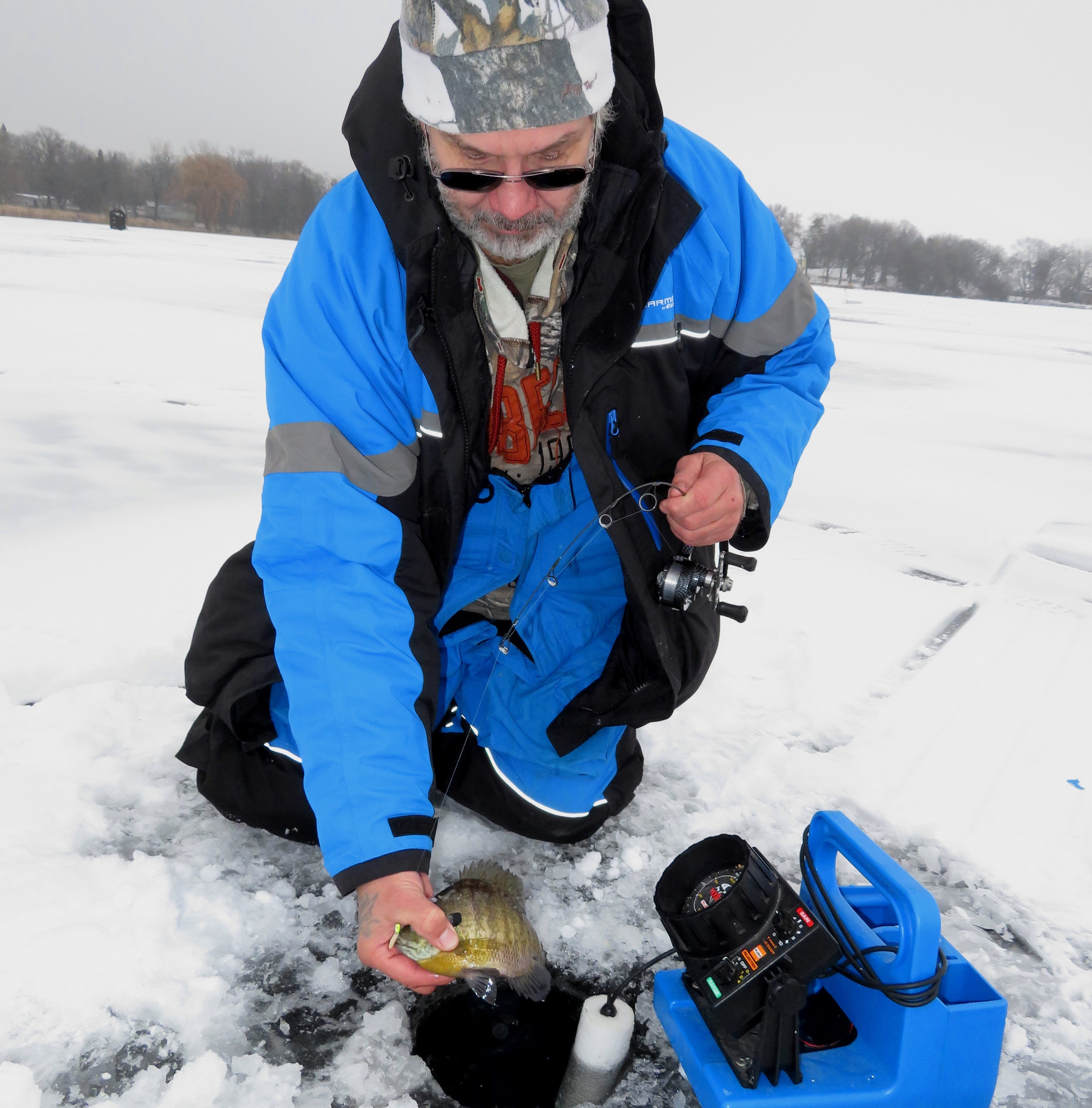 Know condition of area lakes before ice fishing