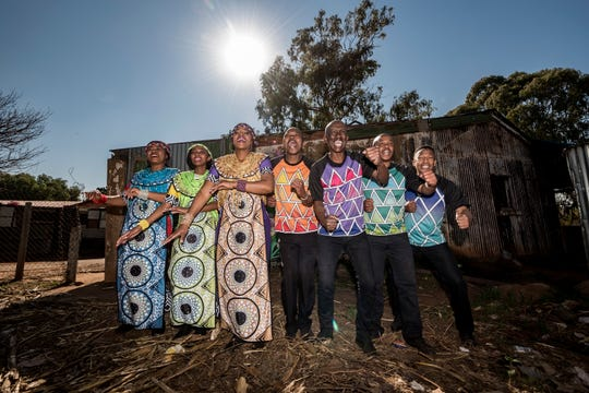 The Soweto Gospel Choir makes its first visit to Tallahassee Tuesday.