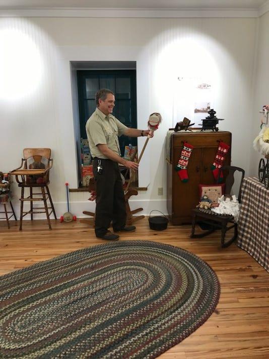 Dan Frisk With Hobby Horse 2018
