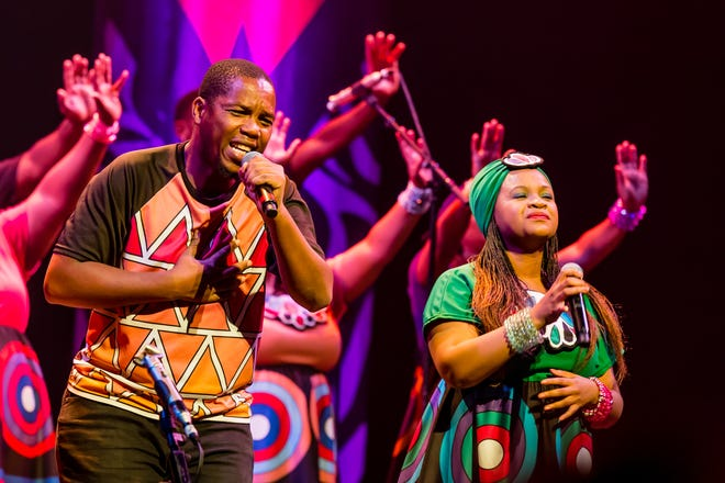 The Soweto Gospel Choir performed in Tallahassee on Tuesday.