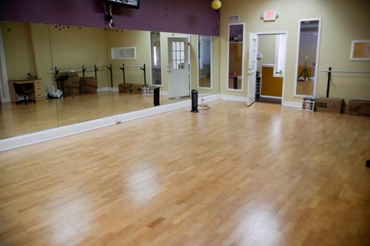 The dance studio at Legacy School of Performing Arts Institute, Inc. Tuesday, Dec. 4, 2018.