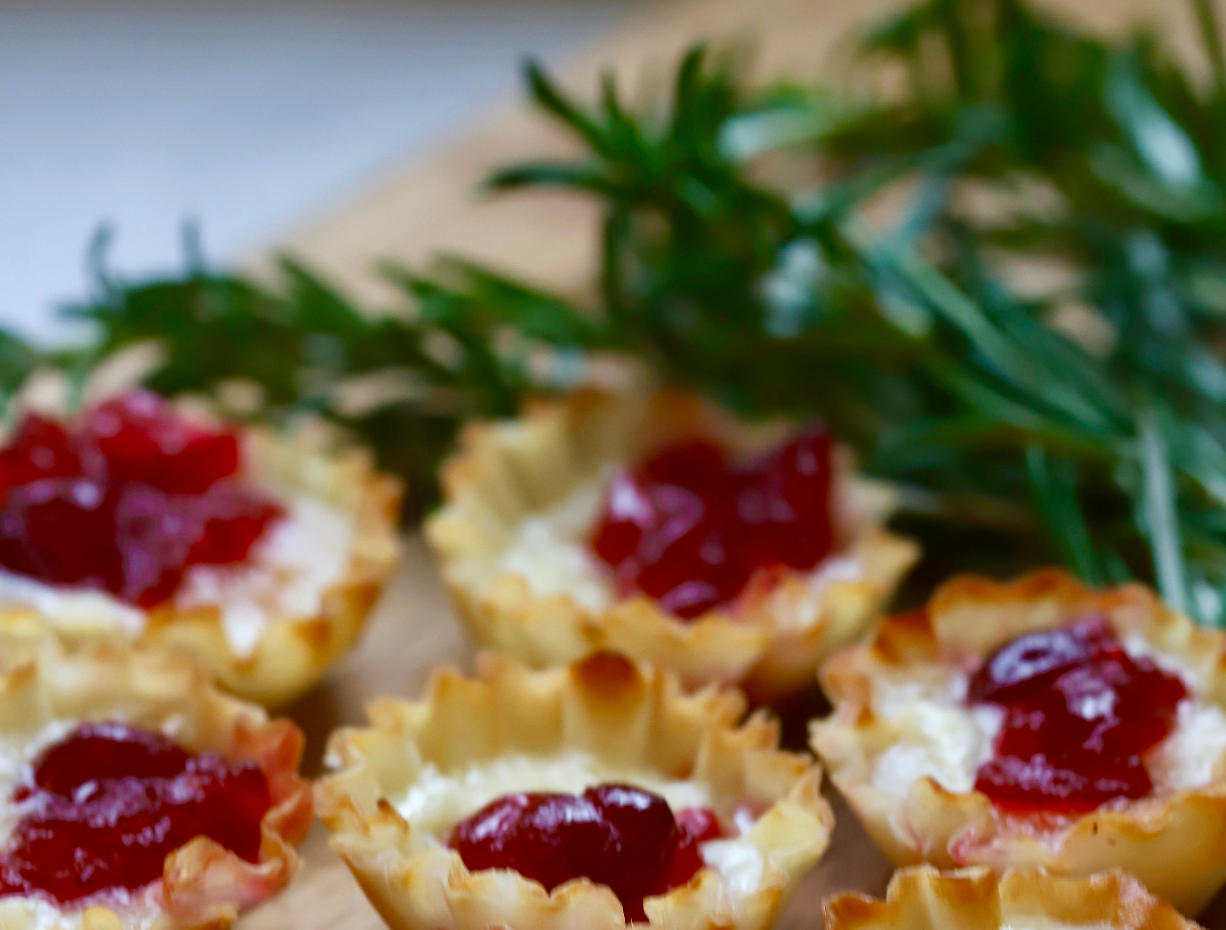 Be merry and bright with festive Cranberry Brie Bites