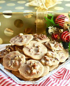 Old Fashioned Pecan Pralines make a delicious holiday gift.