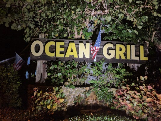 Ocean Grill Signage