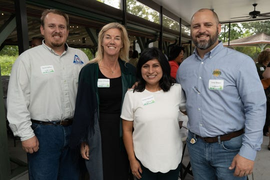 The event celebrated the essential role agriculture plays in the economic health of the region, its environmental impact, and its promise for the future. Attending were David Haffner, Susan O'Rourke, Caroline Villanueva and Cody Beard.