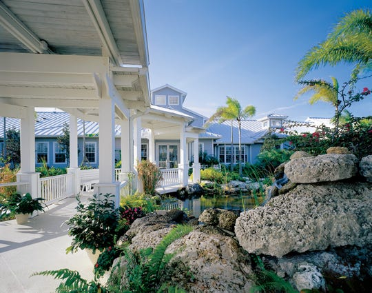 The Visiting Nurse Association's Hospice House in Vero Beach was completed in 2000.