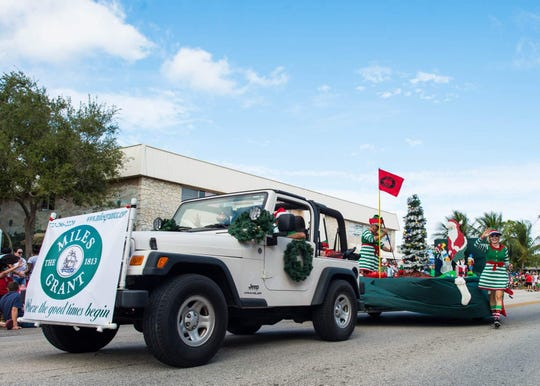 Best humorous parade entry was Miles Grant Country Club.