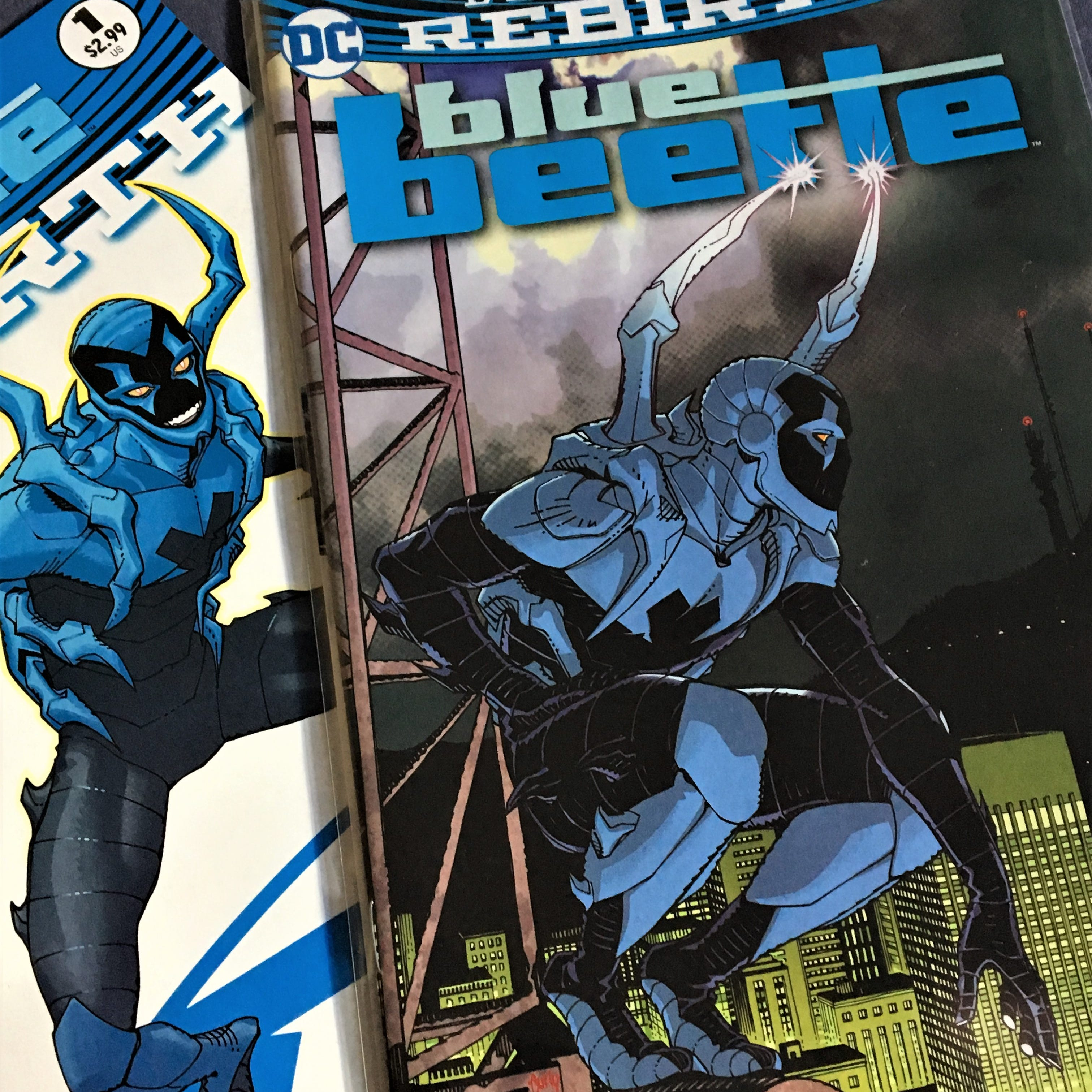 Latino DC comic book superhero Blue Beetle from El Paso in new Warner Bros. film