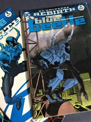 Blue Beetle is a DC Comics superhero based in El Paso, Texas.