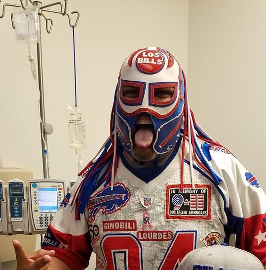 Ezra Castro, better known as Buffalo Bills superfan 'Pancho Billa' loses cancer fight