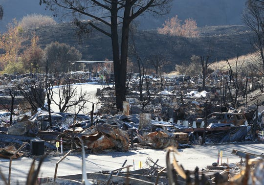 The Federal Emergency Management Agency has thus far given more than $473,000 in disaster assistance grants to 39 Ventura County households which sustained damagein November'sWoolsey and Hillwildfires, FEMA said Wednesday.
