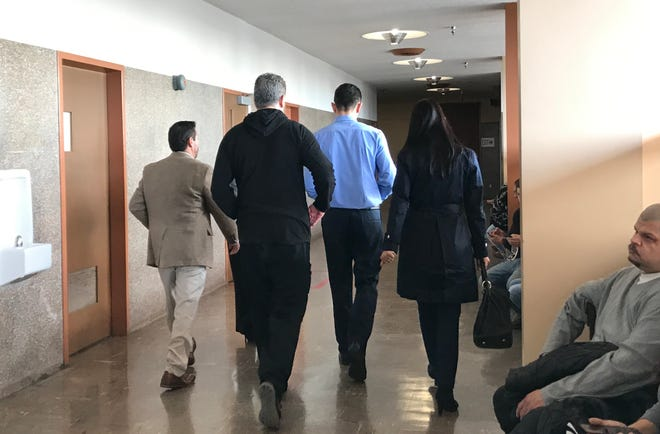 Andres Solis, accused of rape and kidnapping walked out of court Wednesday morning. Solis made his $2 million bail a day before his court hearing. He will return for a preliminary hearing setting on Jan. 18.