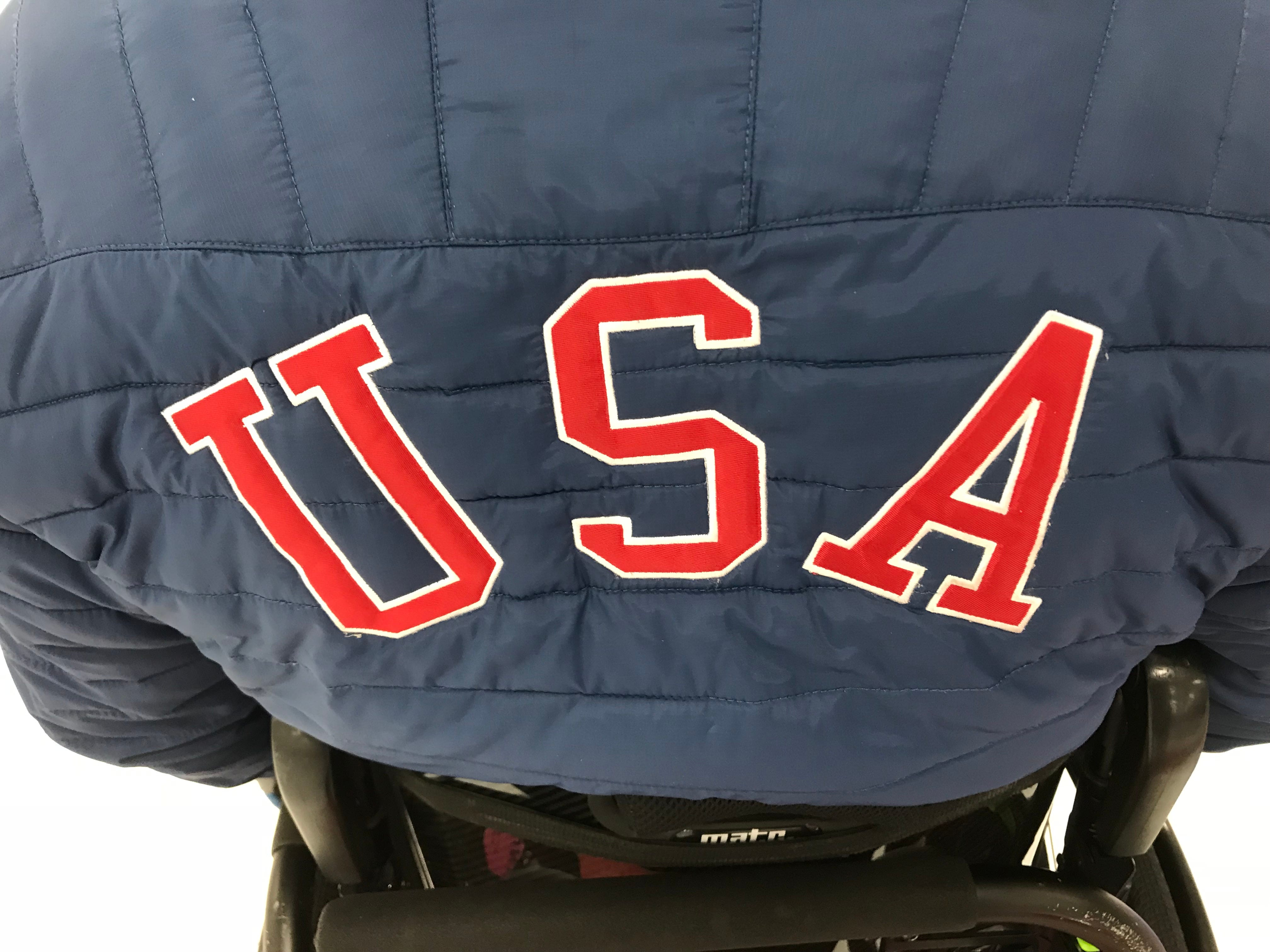 Matt Thums joins four other athletes on Team USA: Steve Emt, Hebron, Conn.; Meghan Lino, East Falmouth, Mass.; Pam Wilson, Westminster, Colo.; and David Samsa, Suamico;