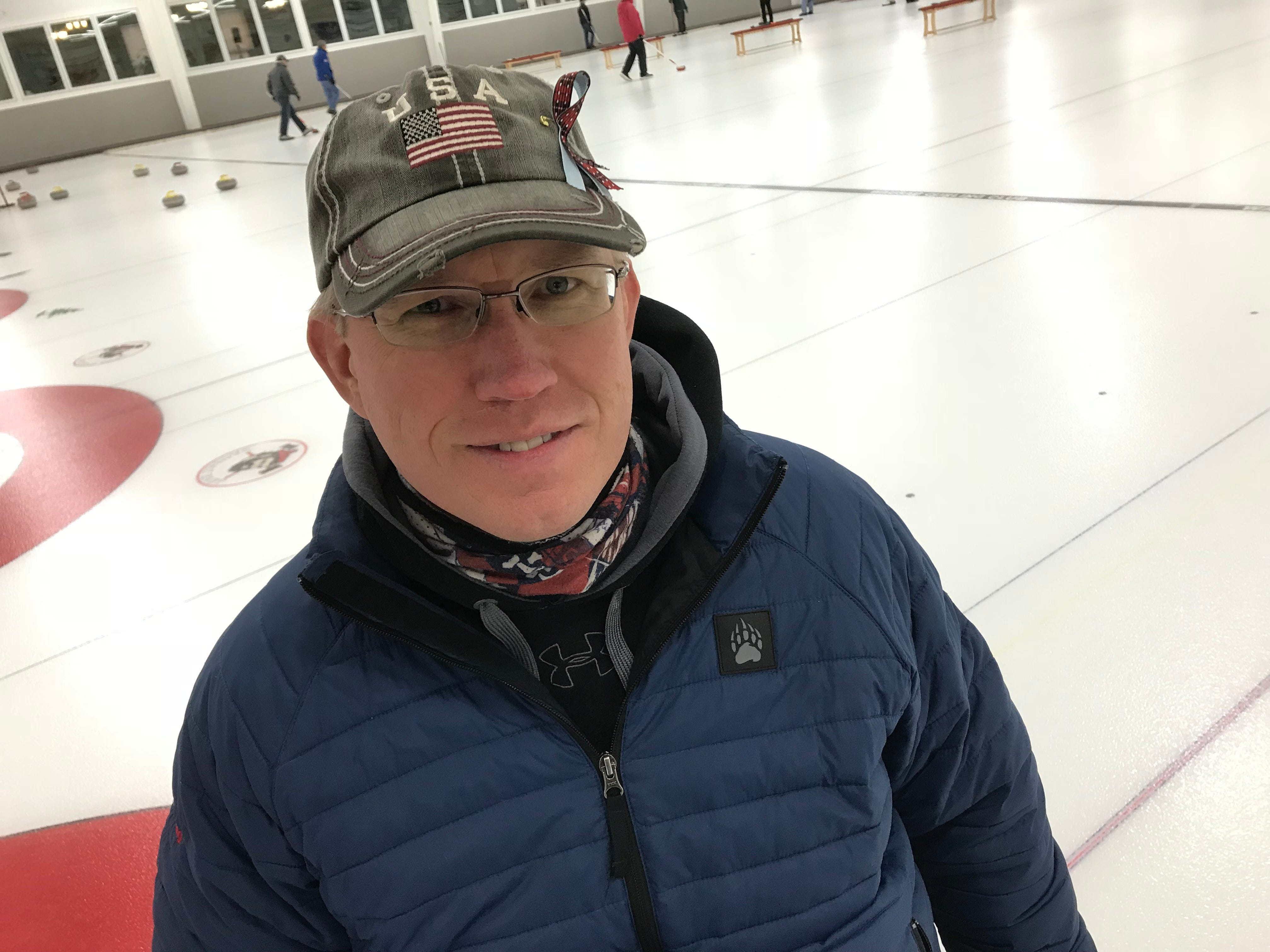 Thums, 42, has been curling since 2013. He's been on the national team for four years, but this is the first time he's been tapped to compete for the United States at an international level.