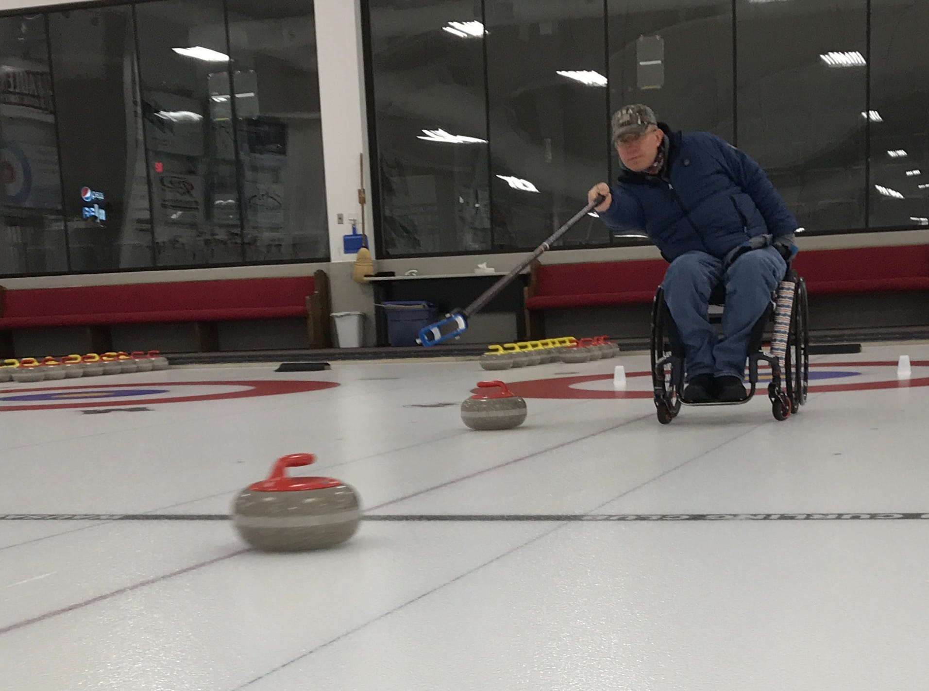 The World Wheelchair Championship is a significant step toward Matt Thums' ultimate goal, to compete in the next Paralympic Games, to be held in 2022 in Beijing, China.