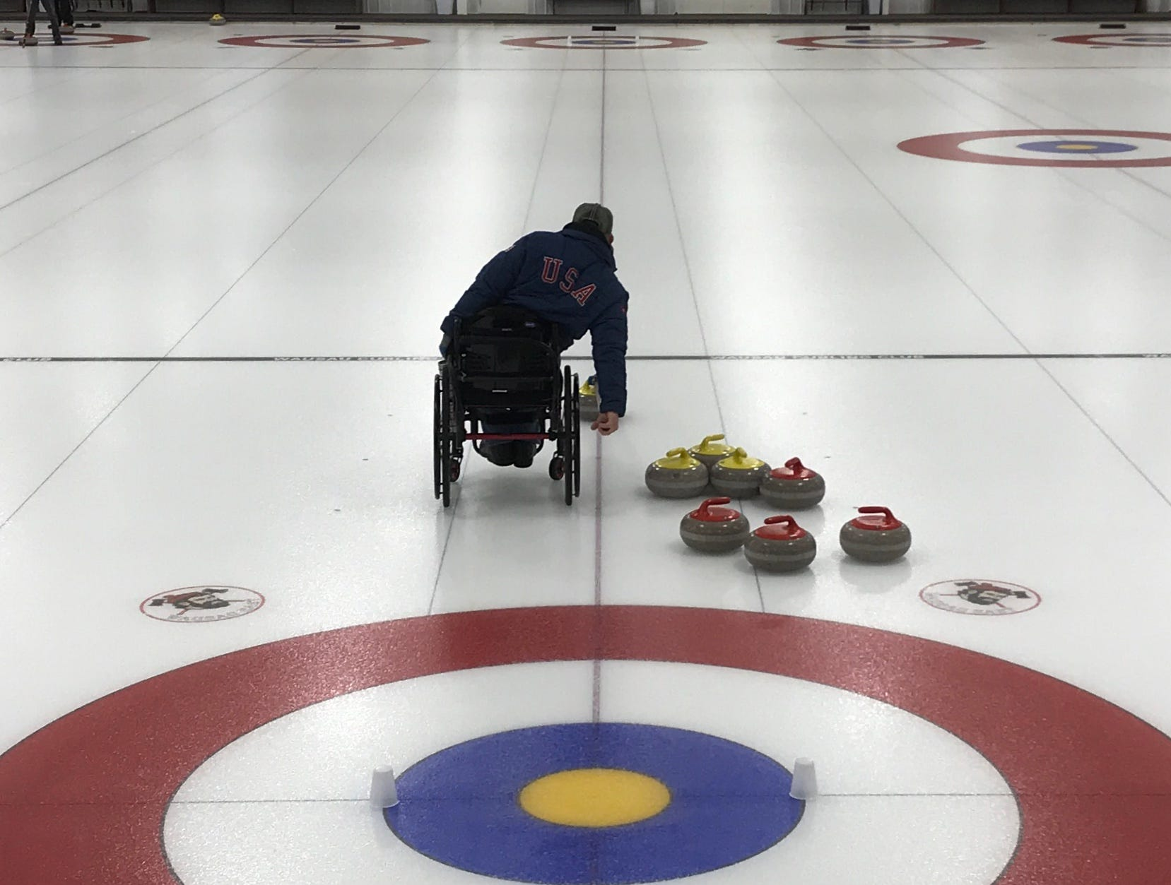 Matt Thums reckons he spends 20 or so hours a week curling in tournaments, practicing, or watching curling videos and preparing for the game mentally.