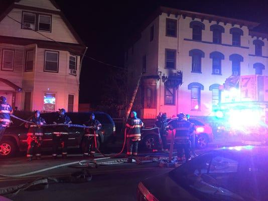 Yonkers fire on Warburton Avenue