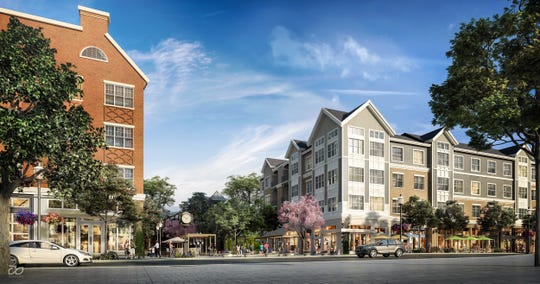 The three-building development, which received final approval from the Harrison Town Boardin June, will be built next to the town's Metro-North train station on Halstead Avenue