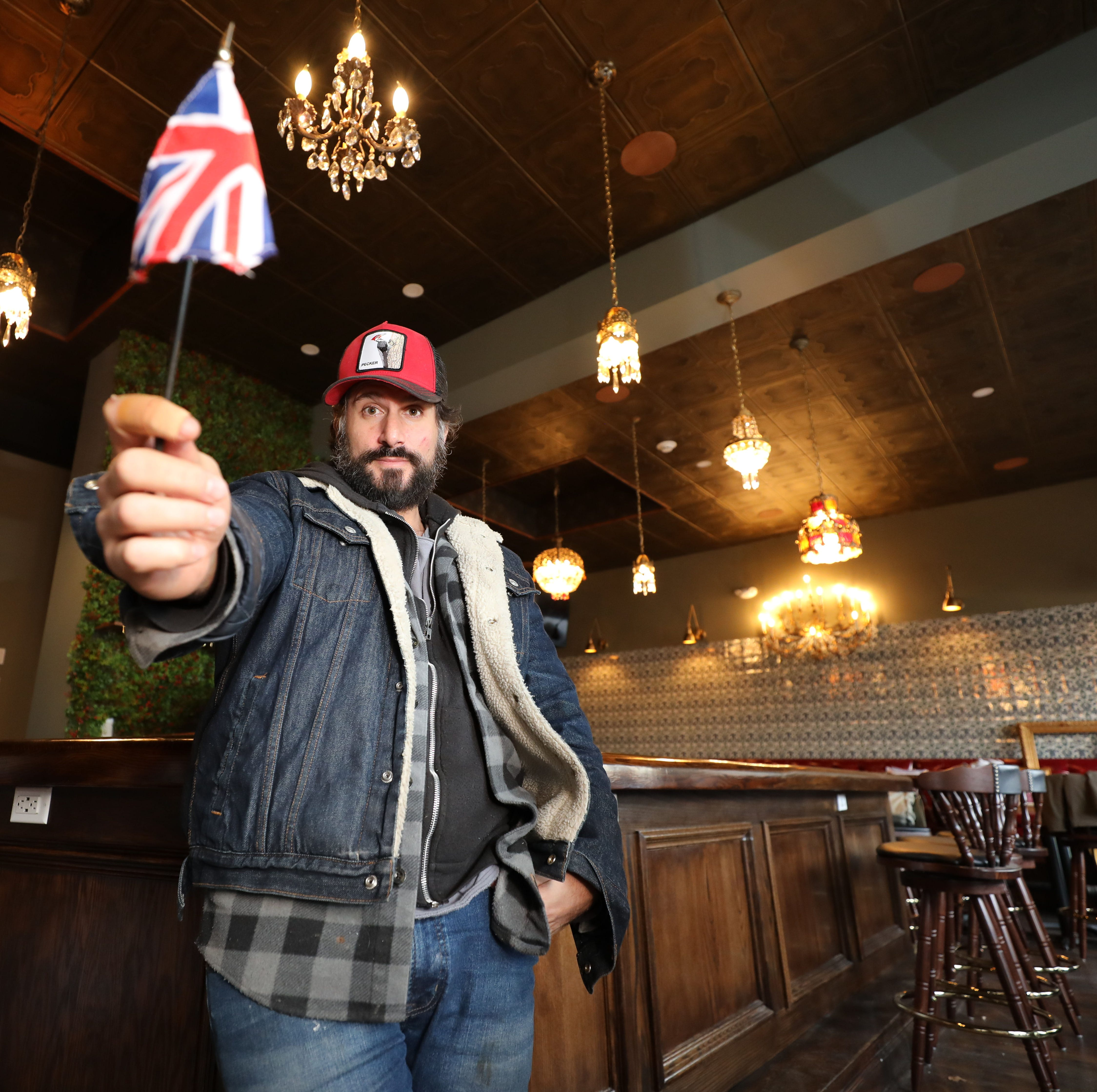 The British are coming: Chef Dave DiBari will open a London-style gastropub, The Rare Bit