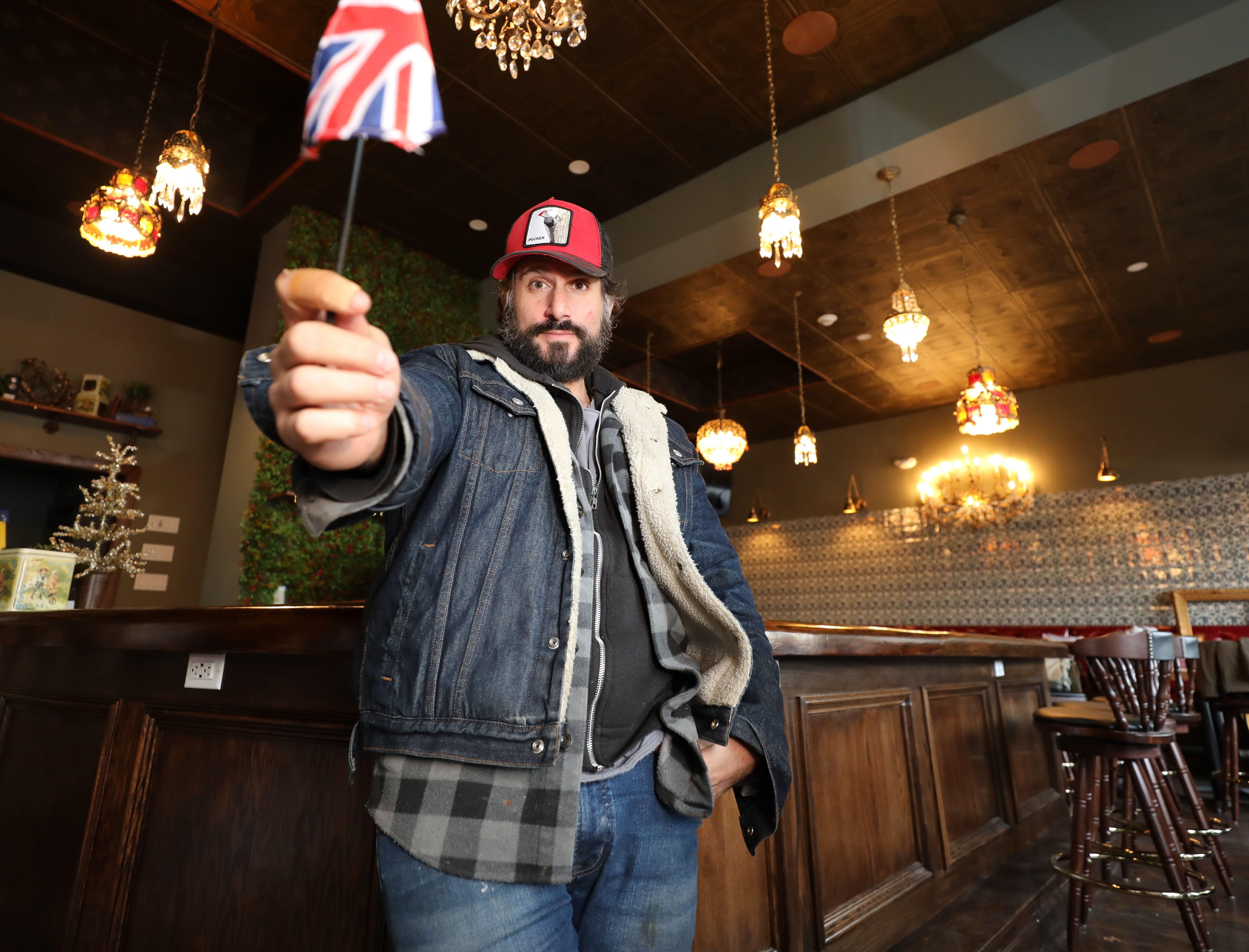The British are coming: Chef Dave DiBari will open a London-style gastropub, The Rare Bit