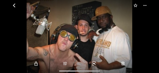 Steve-O, Mike Cola, G Rap, in Putnam Valley in 2008.