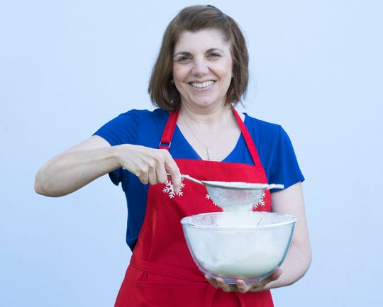 "Eastchester resident Tina Zaccardi is a contestant on the ABC Television Network, ""The Great American Baking Show: Holiday Edition."""