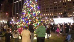 Sights & Sounds: Tree lighting ceremony in Wilmington
