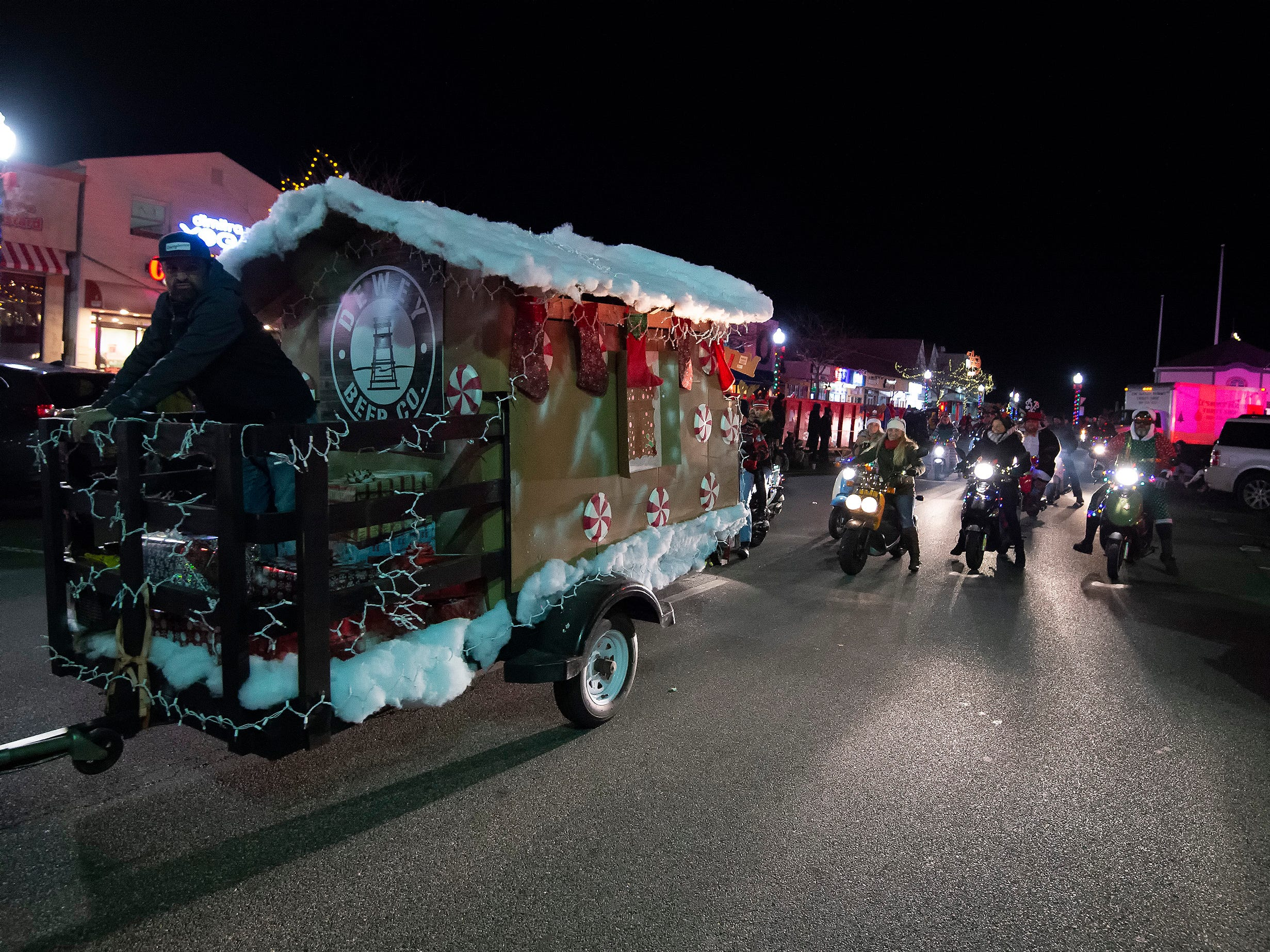 Rehoboth Beach Hometown Christmas Parade.