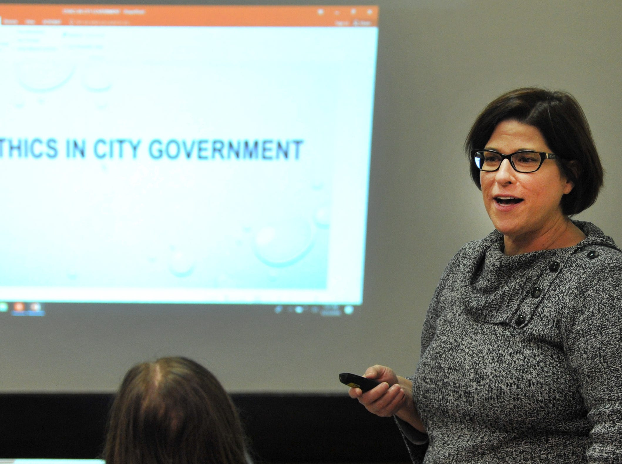 City of Wichita Falls attorney reviews ethics policy at League of Women Voters meeting