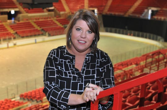 Stephanie Tucker, owner of the soon-to-be-named Wichita Falls US Arena soccer team.